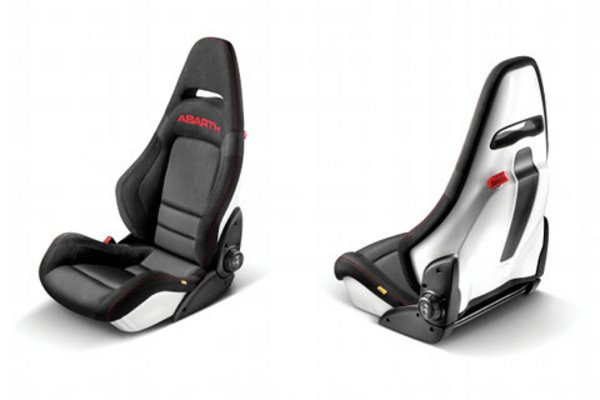 abarth des si ges sabelt en accessoire actualit. Black Bedroom Furniture Sets. Home Design Ideas