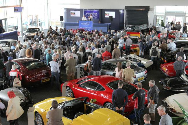 Silverstone Auctions révèle son calendrier 2018