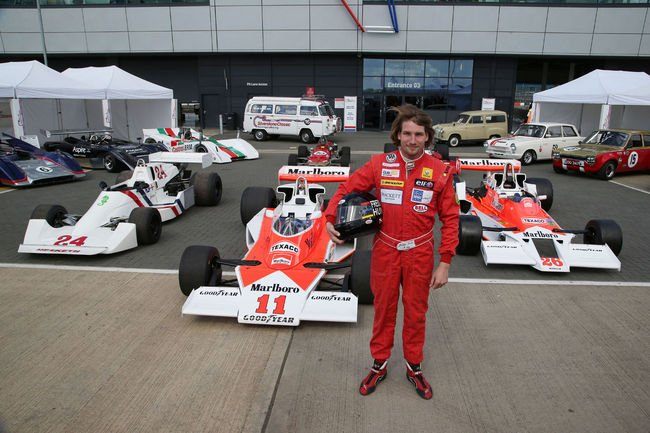 Silverstone Classic rendra hommage à James Hunt