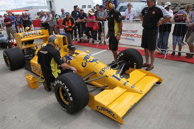 Silverstone Classic : près de 100 Formule 1 en piste