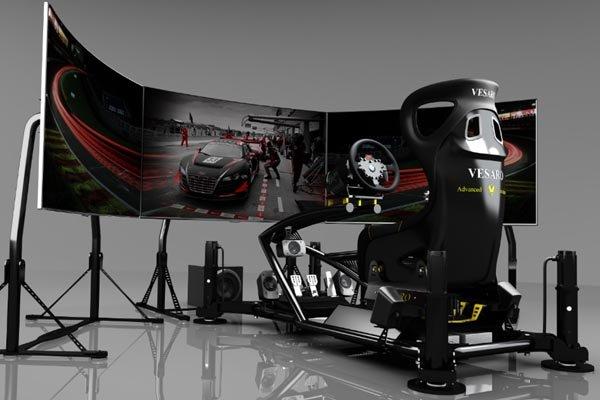 simulateur de conduite vesaro 195 grand luxe actualit. Black Bedroom Furniture Sets. Home Design Ideas