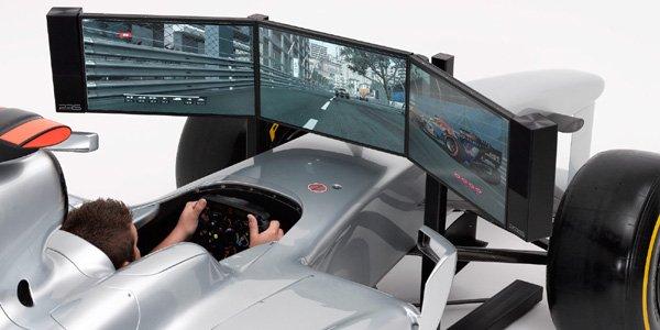 Simulation : une Formule 1 dans le salon