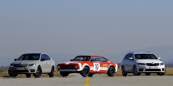 Skoda fête 40 ans de modèles RS
