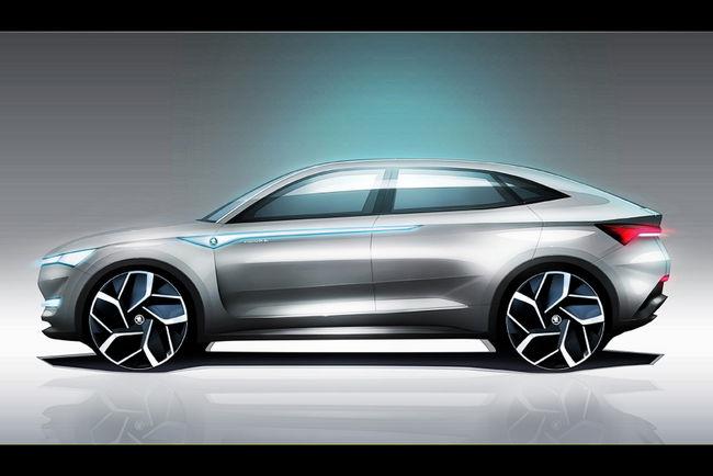 Concept Vision E : le SUV électrique par Skoda