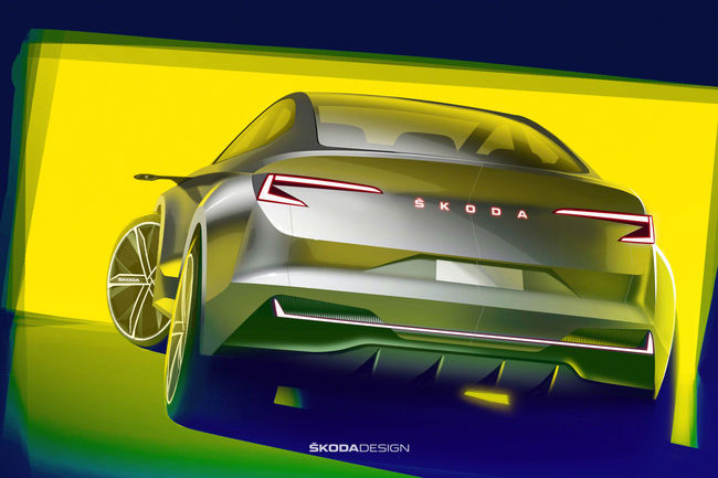 Vision iV : Skoda en marche vers l'électromobilité