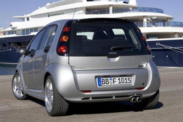 smart forfour brabus actualit automobile motorlegend. Black Bedroom Furniture Sets. Home Design Ideas