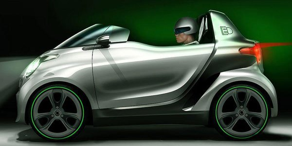 Smart ForspeED Concept, l'air de rien