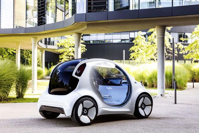 Francfort 2017 : concept smart vision EQ fortwo