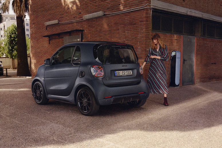 Smart EQ fortwo edition bluedawn : signée Brabus