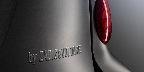 La Smart s'habille chez Zadig & Voltaire