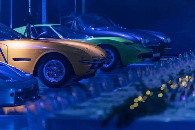 Lamborghini London célèbre le Polo Storico