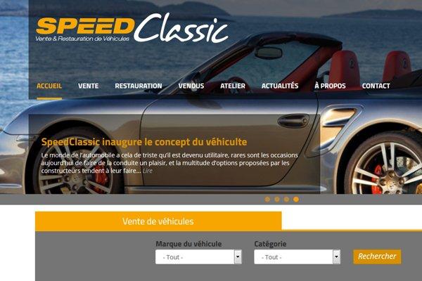 Speed Classic : vente et restauration de véhicules