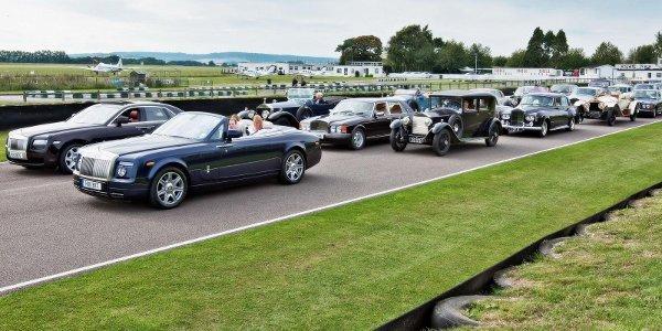 Rolls Royce célèbre le Spirit of Ecstasy