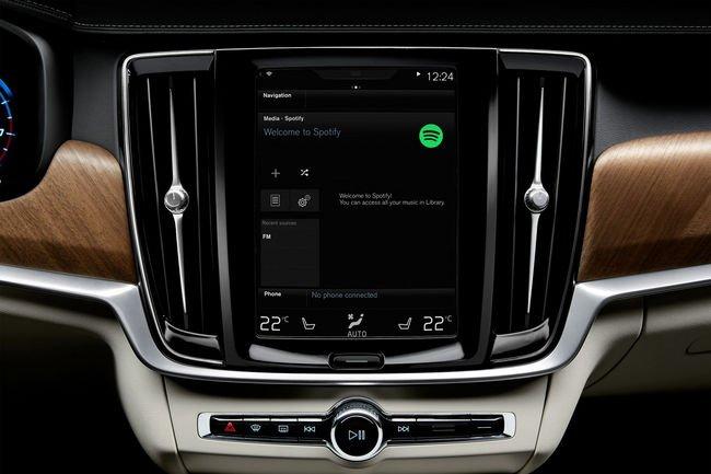 Spotify débarque sur les nouveaux modèles Volvo