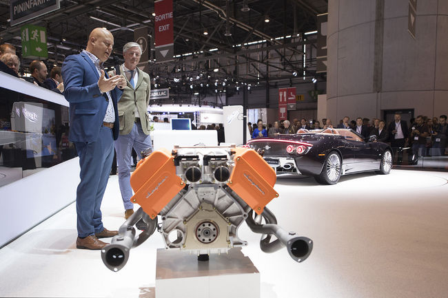 Koenigsegg motorisera les Spyker C8 Preliator