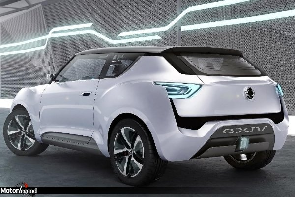 ssangyong e xiv le concept hybride actualit automobile motorlegend. Black Bedroom Furniture Sets. Home Design Ideas