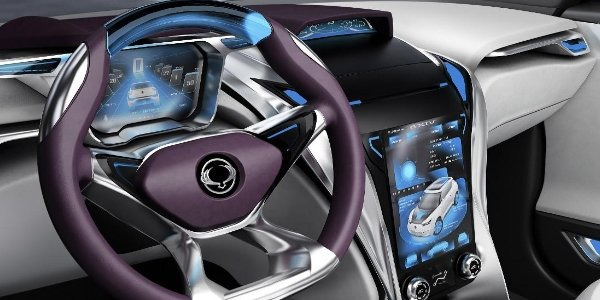 SsangYong e-XIV : le concept hybride