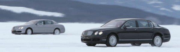 Bentley propose des stages sur glace