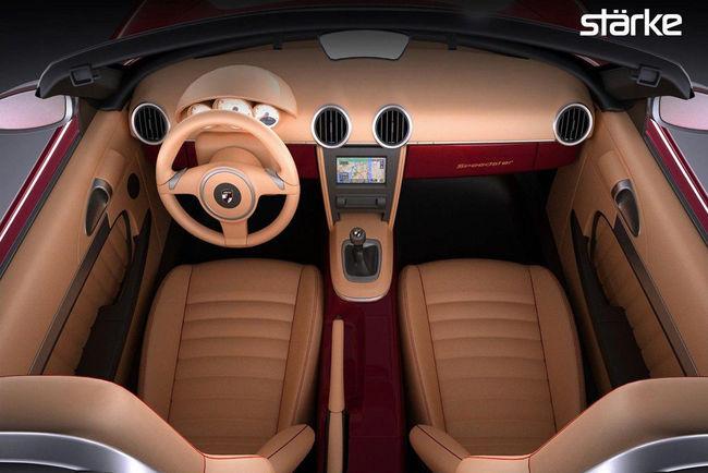 Stärke Revolution Speedster : Porsche 356 look