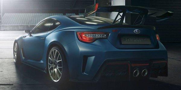 Concept Subaru BRZ STi Performance : premières images