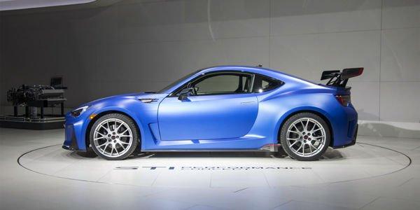 Concept Subaru BRZ STi Performance : le détail