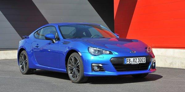 Subaru BRZ : les prix en Grande-Bretagne