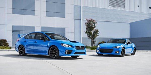 Subaru BRZ et WRX STI Series.HyperBlue