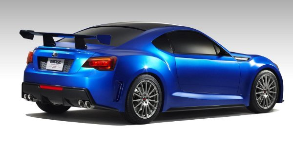 Los Angeles : Concept Subaru BRZ STI