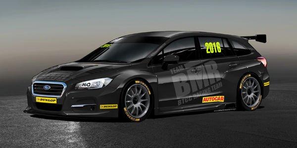 Subaru débarque en BTCC avec le Team BMR