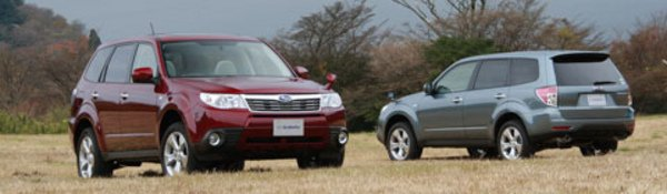 Subaru Forester : formule enrichie