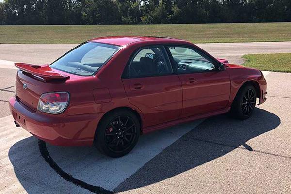 """Une autre Subaru WRX """"Baby Driver"""" aux enchères"""