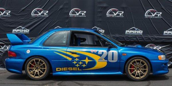 Pikes Peak : une réplique de Subaru 22B STI... diesel !