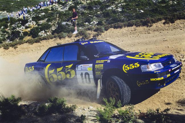 Une Subaru Legacy RS Groupe A ex-Ari Vatanen aux enchères