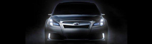 La Subaru Legacy Concept à Detroit