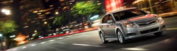 Subaru dévoile la nouvelle Legacy à NY