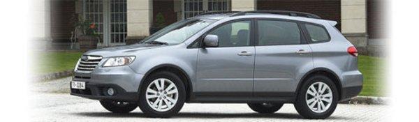 Subaru Tribeca : timides évolutions