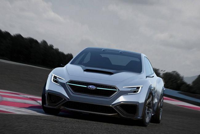 Tokyo : Subaru Viziv Performance Concept