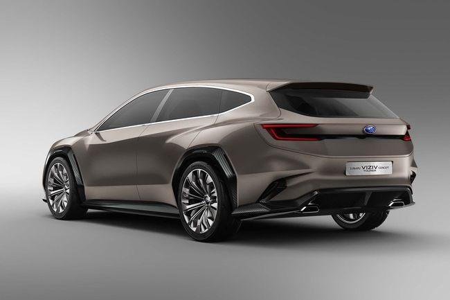 Genève : Subaru Viziv Tourer Concept