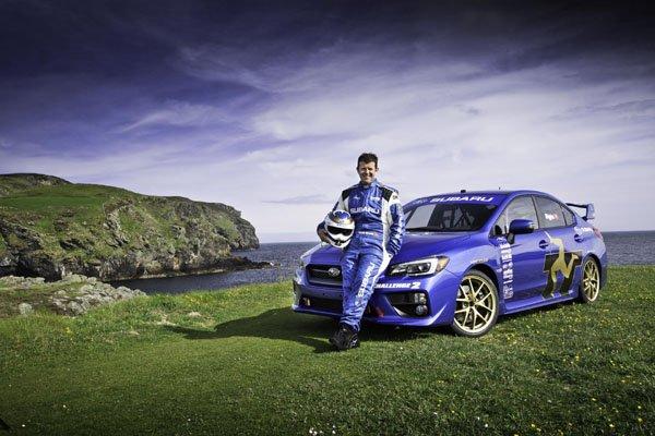 Subaru WRX STI : l'Ile de Man en point de mire