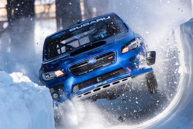 Performance insolite pour Mark Higgins et sa Subaru WRX STI