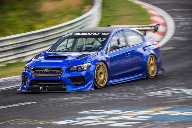 Subaru signe un nouveau record sur le Nürburgring