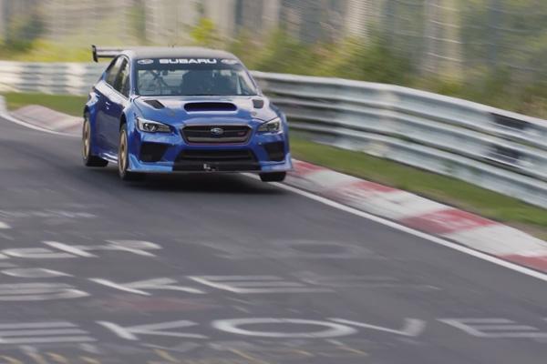 Nürburgring : Subaru revient en vidéos sur sa perfomance