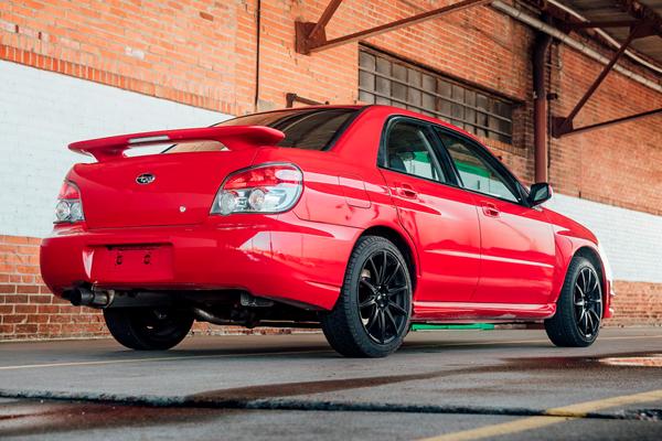 Offrez-vous la Subaru WRX STI de Baby Driver