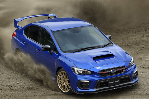 Subaru WRX STI EJ20 Final Edition : pour le Japon