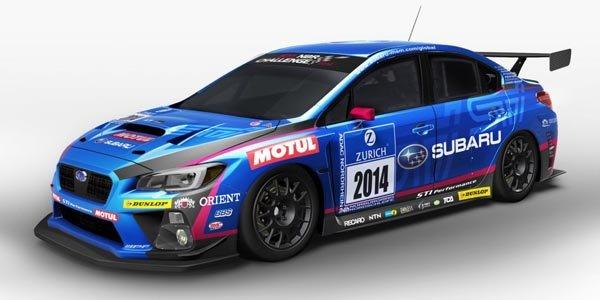Une Subaru STi aux 24H du Nürburgring
