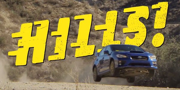 Un nanar pour promouvoir la Subaru WRX STI