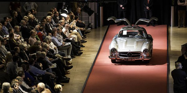 Bonhams : succès de la vente Mercedes-Benz