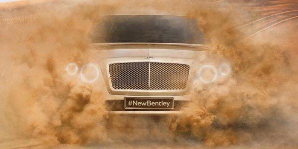 SUV Bentley : appelez le Bentayga