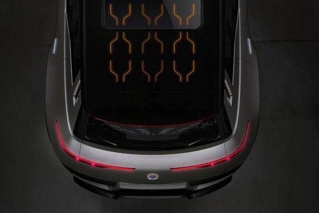 Nouvelles images du premier SUV de Fisker