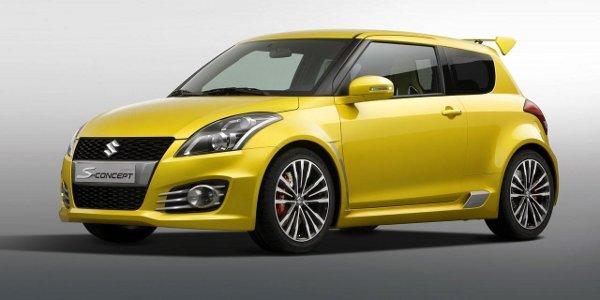La nouvelle Suzuki Swift Sport pour 2012